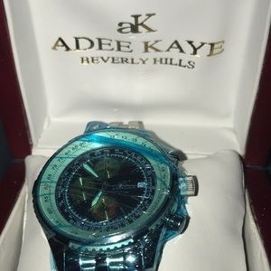 Adele Kaye Stainless Steel Men's Chronograph Watch
